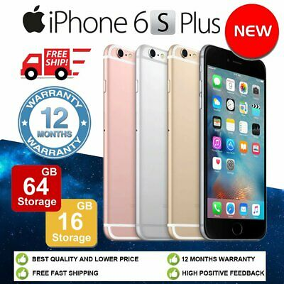 NEW Apple iPhone 6s Plus 16GB 64GB Factory Unlocked Mobile Smartphone