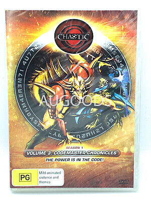 Chaotic Volume 3 Codemaster Chronicles  RARE FILM MOVIE PAL DVD NEW SEALED