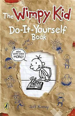 Diary of a Wimpy Kid: Do-It-Yourself Book by Jeff Kinney New Paperback Book