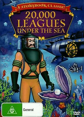 20000 LEAGUES UNDER THE SEA -childrens Kid's ChildrenClassic story -G NEW SEALED