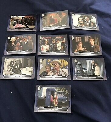 Doctor Who Topps 2015 Companions Chase Set C1 - C10