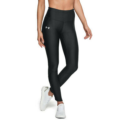 Under Armour Womens Fly Fast Running Tights Bottoms Pants Trousers Black Sports