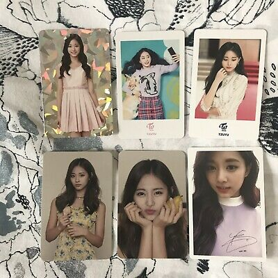 LOT Tzuyu Twice (6pc) Official Photocard Set Twiceland Dream Day Once Halloween