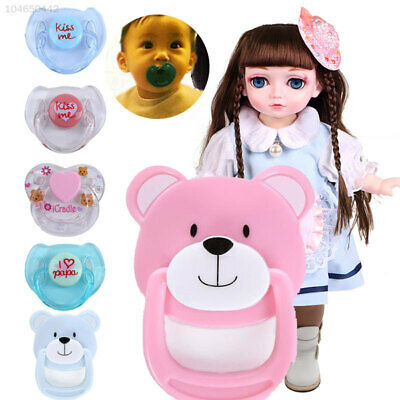 4DEC Dummy Pacifier Magnetic Pacifiers Cute Doll Accessories Reborn Baby Dolls