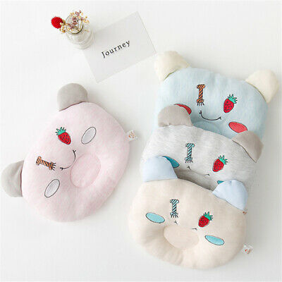 Strawberry Pillow Positioner Prevent Flat Head Anti Roll Corrective Bias Pillow