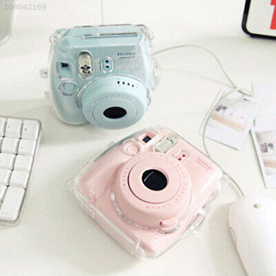 Clear Transparent Case Cover Protective Bags For FujiFilm Instax Mini 8 Camera