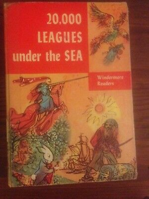 Windermere Readers 20000 Leagues Under the Sea By Jules Verne 1955 Edition