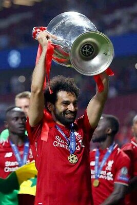 Mohamed Salah Liverpool Champions League European Cup Winners 2019 Photograph