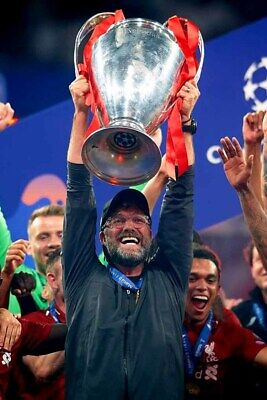 Jurgen Klopp Liverpool Champions League European Cup Winners 2019 Photograph