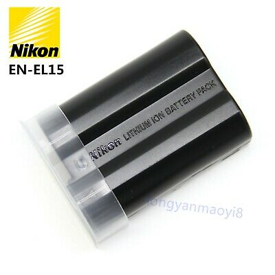 New Original Nikon EN-EL15 Battery for Nikon D7500 D7100 D7200 D7000 D850 D810