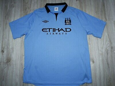 Authentic UMBRO MANCHESTER CITY 2012/13 Home shirt Good condition size 50