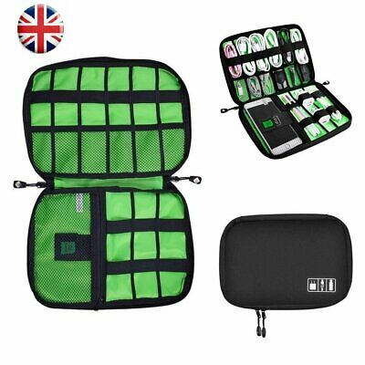 Universal Cable Organizer Bag for Travel Houseware Storage for Various USB Cable