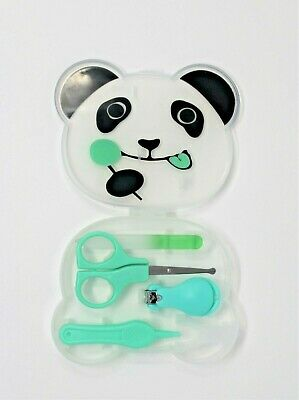 4 Pieces Baby Nail Infant Care Set Kit Safety: Scissors Clipper Cutter Manicure