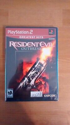 Resident Evil: Outbreak (Sony PlayStation 2, 2004), NEW, SEALED, Greatest Hits