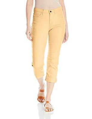 ec17c83b NWT WOMENS LEE Curvy Fit Modern Series Capri Jeans 3373446 Gemstone ...