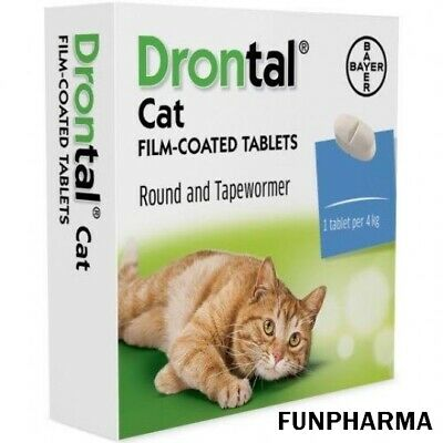 Drontal Cat Worming 24 Tablet - Registered Mail