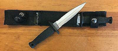 Double Thrower Knife Set Twin Fixed Blade Daggers and Belt Sheath Self Defense