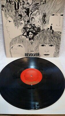 The Beatles Revolver Capital  Release SW-2576   Record Album  #95