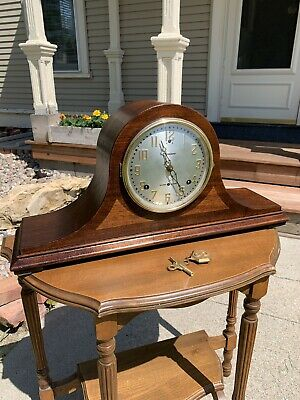 Restored 1927 Pre WWII Sessions Westminster Chimes No.2  Mantel Clock Antique