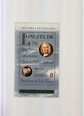 Longitude-Dava Sobel-1St 1995-Gripping True Story Of The Genius Who Solved It-Nf