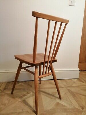 Original Mid-Century Ercol 391 All Purpose Chair Elm and Beech Refurbished Retro