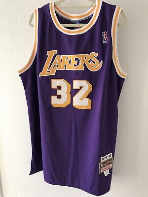 12c8d780b1c Magic Johnson Los Angeles LA Lakers 1979-80 Mitchell & Ness Authentic jersey  60