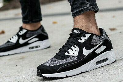 NIKE AIR MAX 90 ULTRA 2.0 FLYKNIT BLACK WHITE OREO 875943