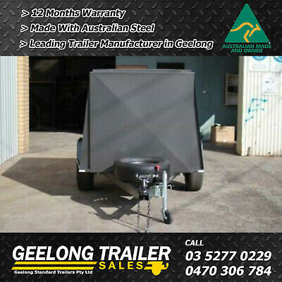 6x4 Enclosed Van Trailer Brand New in North Geelong