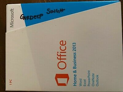 Microsoft Office Home & Business 2013 Windows 7/8 32/64 Bit 1 Activation Left