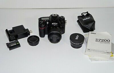Nikon D7200 Digital SLR Camera With 18-55mm DX VR Lens. Low Shutter Count