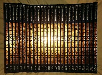 COMPLETE SET OF 26 - PARANORMAL ENCYCLOPEDIA BOOKS LOT OCCULT ESOTERIC UFOs  ESP