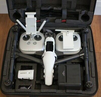 DJI Inspire 1 v2.0 RAW Quadcopter with Zenmuse X5R &2 controllers