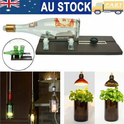 Glass Bottle Cutter Machine Recycle Jar Wine Bottles Cutting DIY Recycle Tool AU