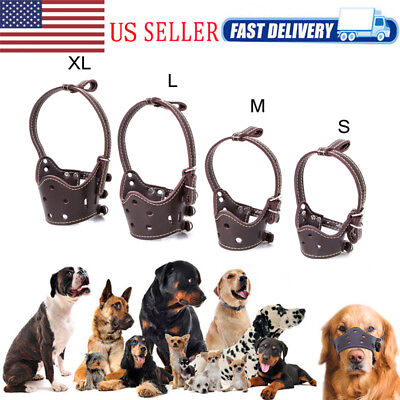 Adjustable Dog Muzzle Safety Muzzel Biting Barking Chewing Small Medium Large