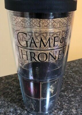 71b35d3977f Tervis 1325310 HBO Game of Thrones - House Sigils Insulated Travel Tumbler