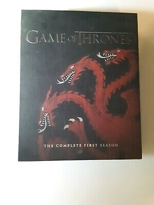 🔥Game Of Thrones - Season 1 Blu-ray - Best Buy Sigil Rare House Targaryen OOP
