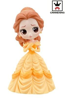 Banpresto Q Posket Disney Princess Beauty And The Beast Belle Figure B Pastel