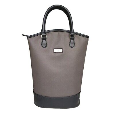 NEW Sachi Insulated  Wine Tote Charcoal