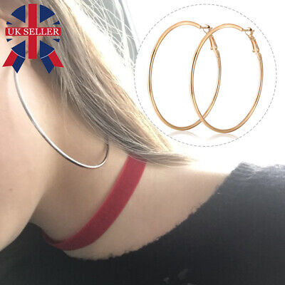 f7bc71126d597 5 GOLD COLOUR Hoop Earrings - New Primark Pack Mixed Sizes - £2.99 ...