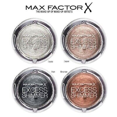 MAX FACTOR Excess Shimmer Sombra de Ojos Eyeshadow Crystal Copper Bronze Onix