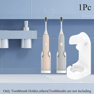 Wall-Mounted Electric Toothbrushes Holder Stand Support Tooth Brush Head Base