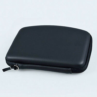 Fashion Hard Shell GPS Carry Case Bag Zipper Pouch Cover For 5Inch Sat Nav  IO