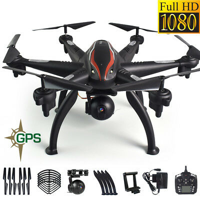 L100 Quadcopter 6 Axis Dual GPS RC Drone FPV Helicopter 2.4G WiFi With Camera