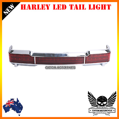 Chrome LED Tail turn signal light Harley touring electra glide road king 97-08