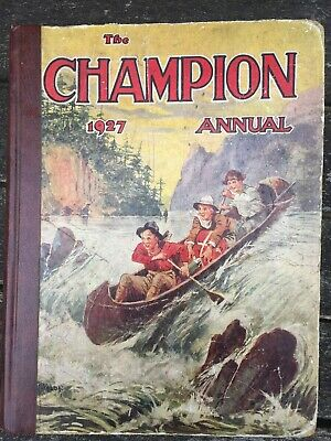 The Champion Annual 1927 REBOUND LEATHER