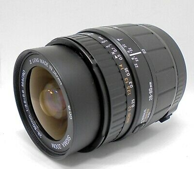 [As Is] Sigma Zoom 28-80mm F/3.5-5.6 MACRO Lens for Canon F from Japan #6868