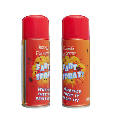 2 x Fart Gas Spray Prank Party Fun Joke Stink Foul Smelling Gas Tricks 200ml