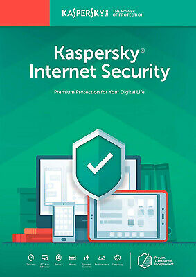 Kaspersky Internet Security 1 Pc Device 1 Year 2019 | Big Sale!!