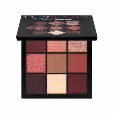 Official Huda Beauty Mauve Obsessions Eyeshadow Palette Limited Collection UK