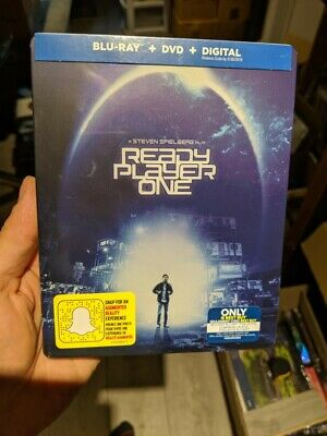 Ready Player One - Best Buy Exclusive Steelbook (Blu-ra/DVD) BRAND NEW!!